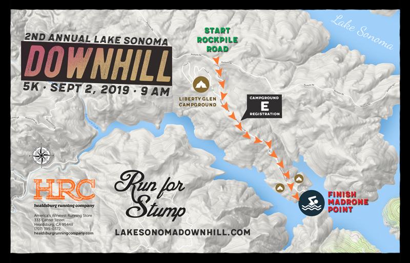 LS downhill map