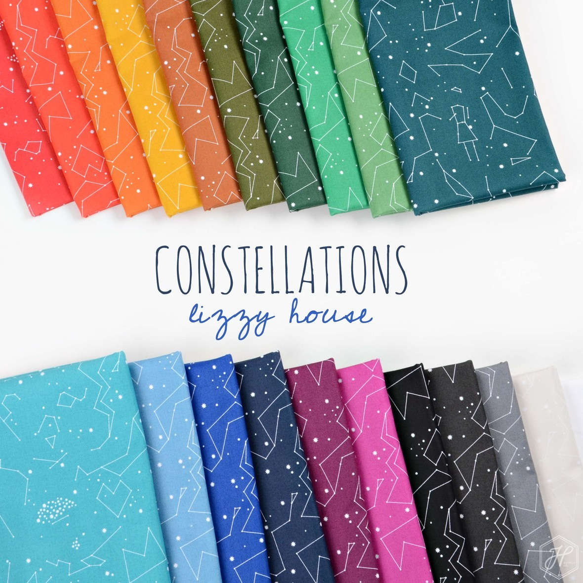 Constellations Fabric Poster Lizzy House at Hawthorne Supply Co