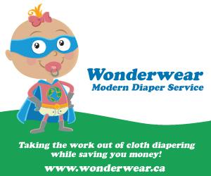 Wonderwear Modern Diaper Service box ad