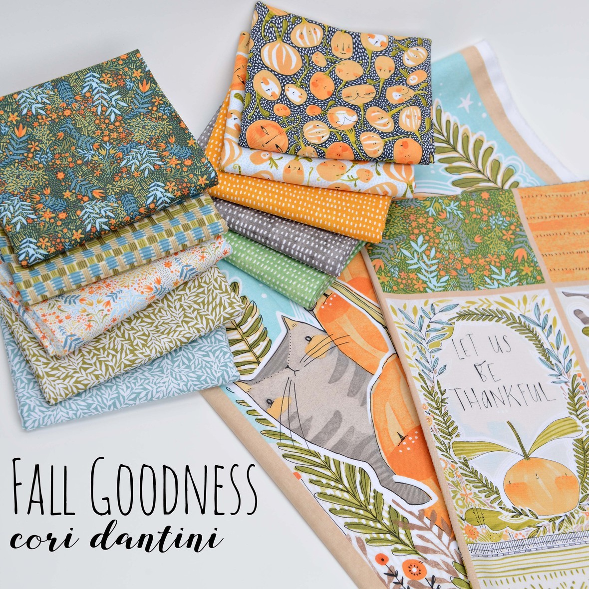 Fall Goodness Fabric Poster 2