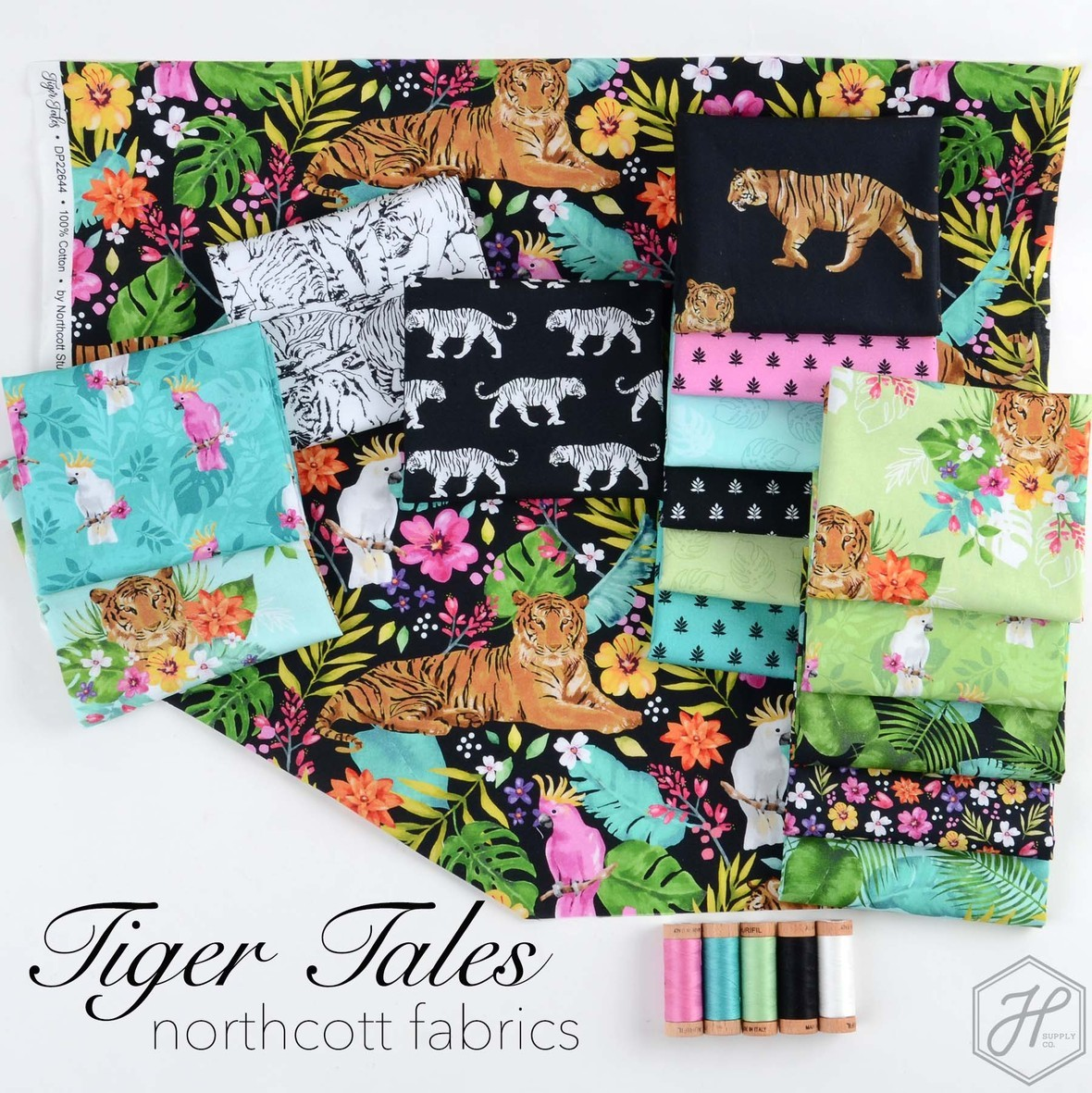 Tiger Tales Fabric from Northcortt at Hawthorne Supply Co