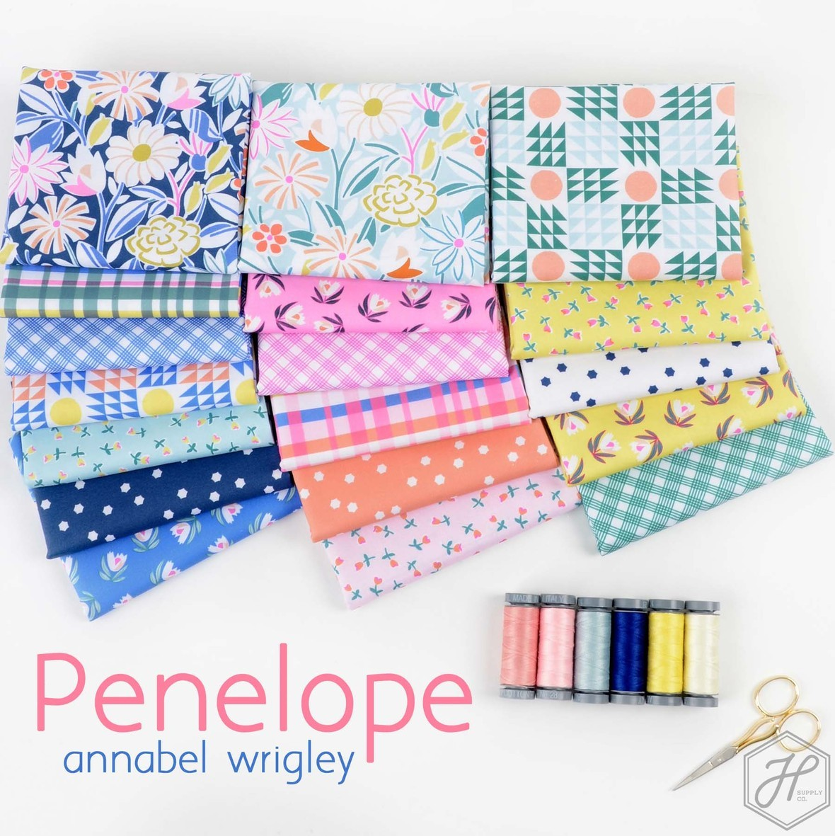Penelope Fabric Collection Annabel Wrigley for Windham at Hawthorne Supply Co