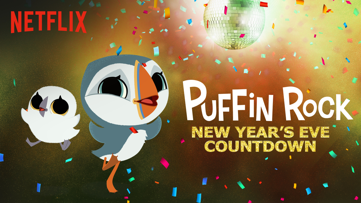 Puffin Rock New Year's Eve Countdown