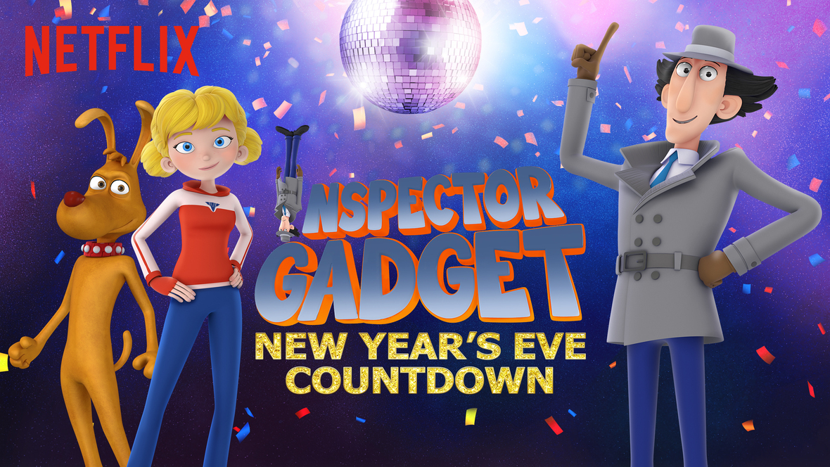 Inspector Gadget New Year's Eve Countdown