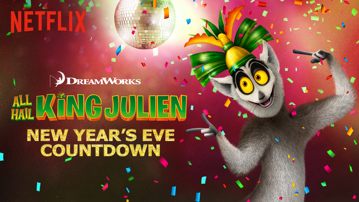 King Julien New Year's Eve Countdown