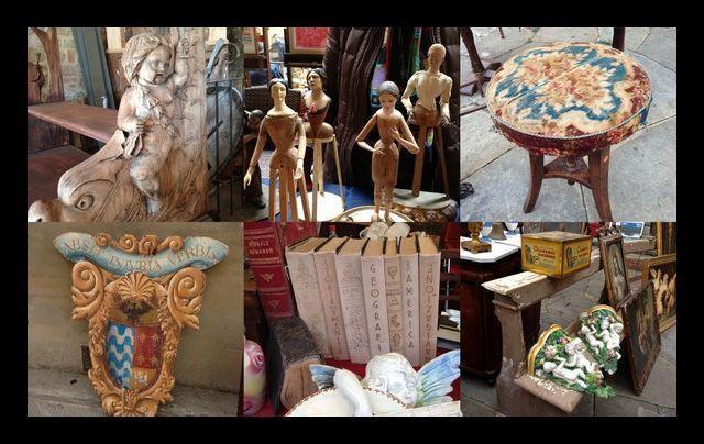 italy tuscany flea market