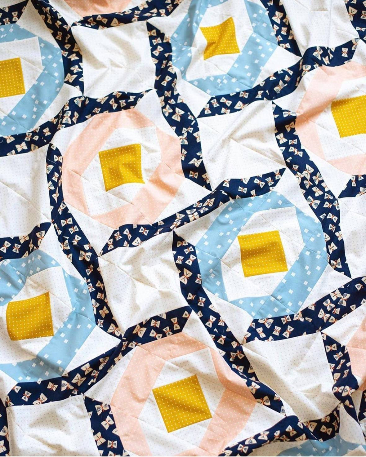 Tropical Storm Quilt by Modernly Morgan Quilt