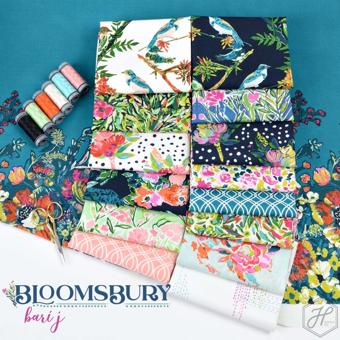 Bloomsbury Fabric Bari J for Art Gallery at Hawthorne Supply Co  1
