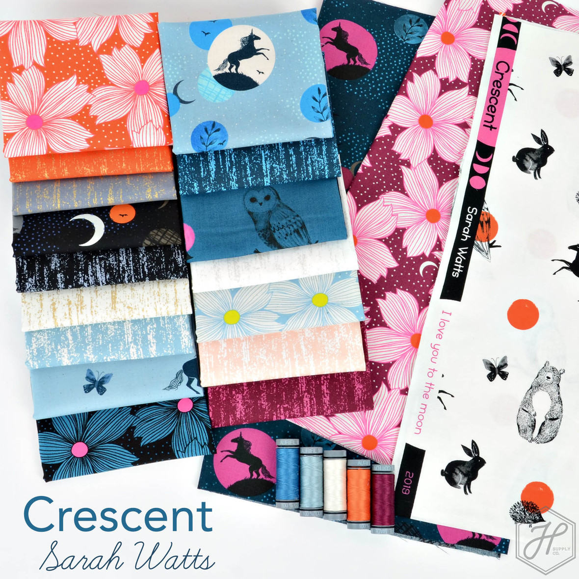 Crescent Fabric Sarah Watts and Ruby Star Society at Hawthorne Supply Co