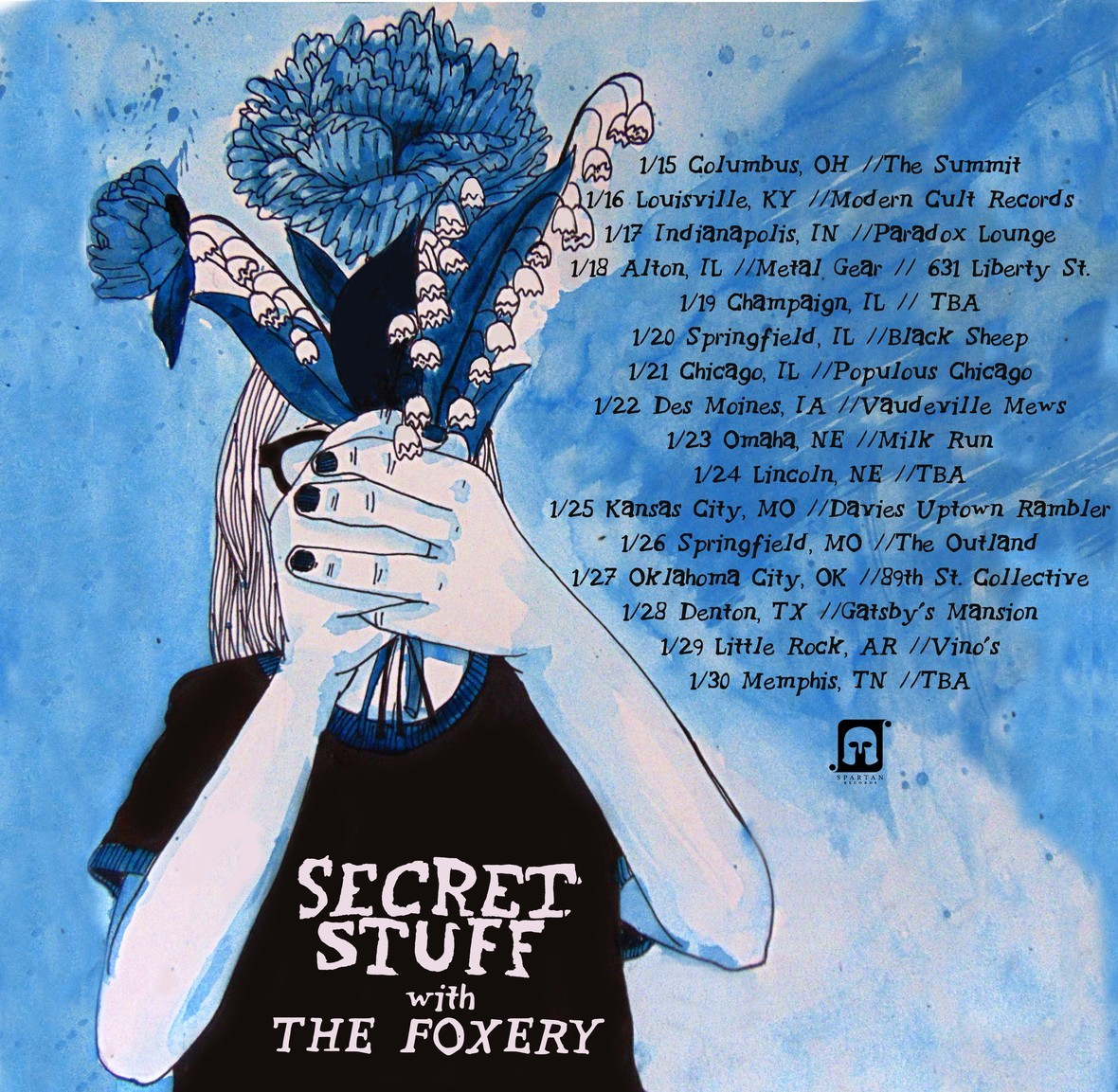secret stuff foxery tour dates