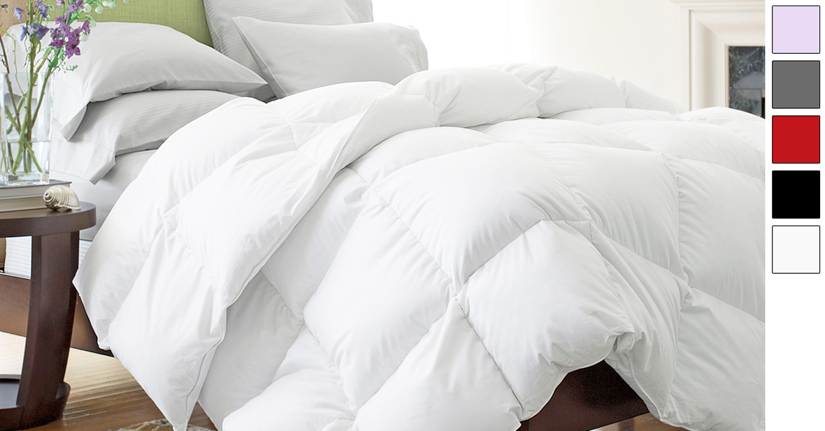 siberian down ebay king of medium hotel s comforter collection p picture white weight