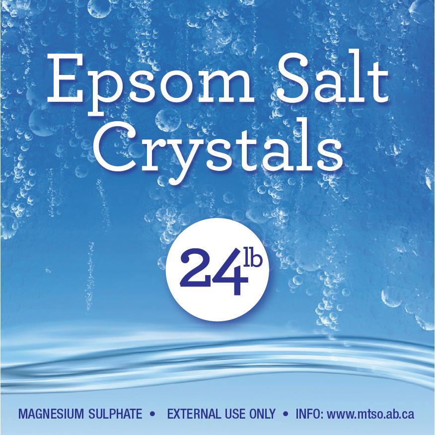 Epsom Salt 24 lb
