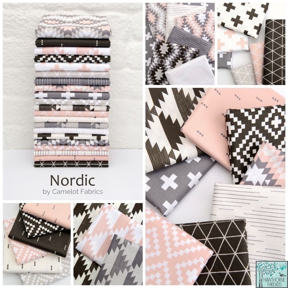 Nordic Fabric Poster