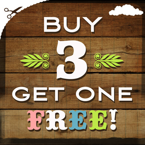 Buy: Buy 3 Get 1 Free – 3 Days Left To Save