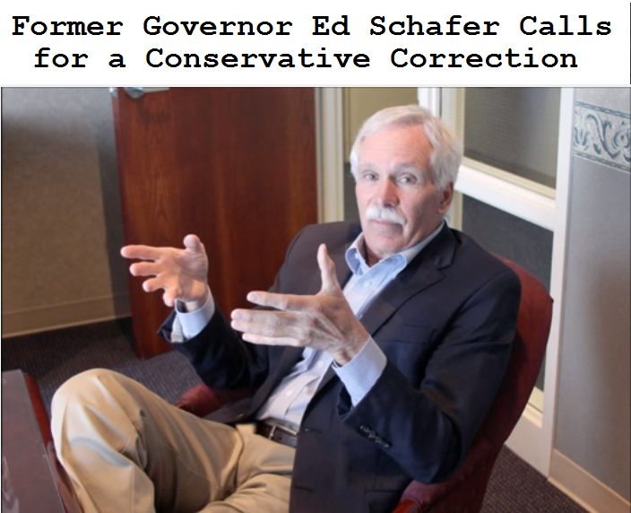 Ed Schafer Conservative Correction