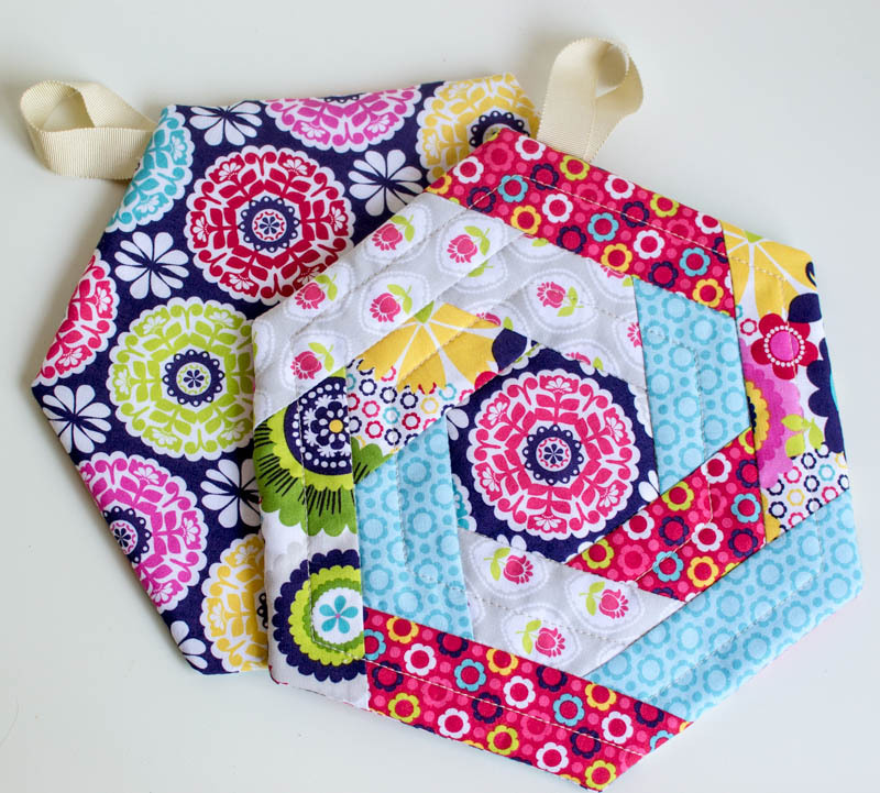 Today's Tutorial: DIY Rag Rug and Updated Hexi Potholder Pattern