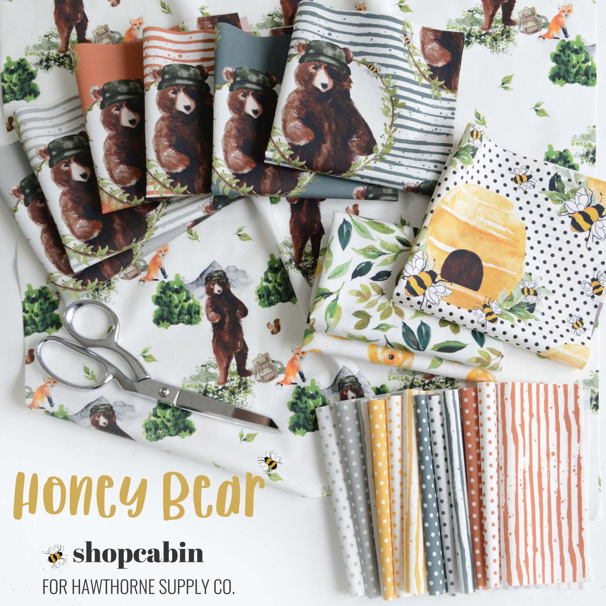 Honey Bear Boy by Shopcabin at Hawthorne Supply Co.