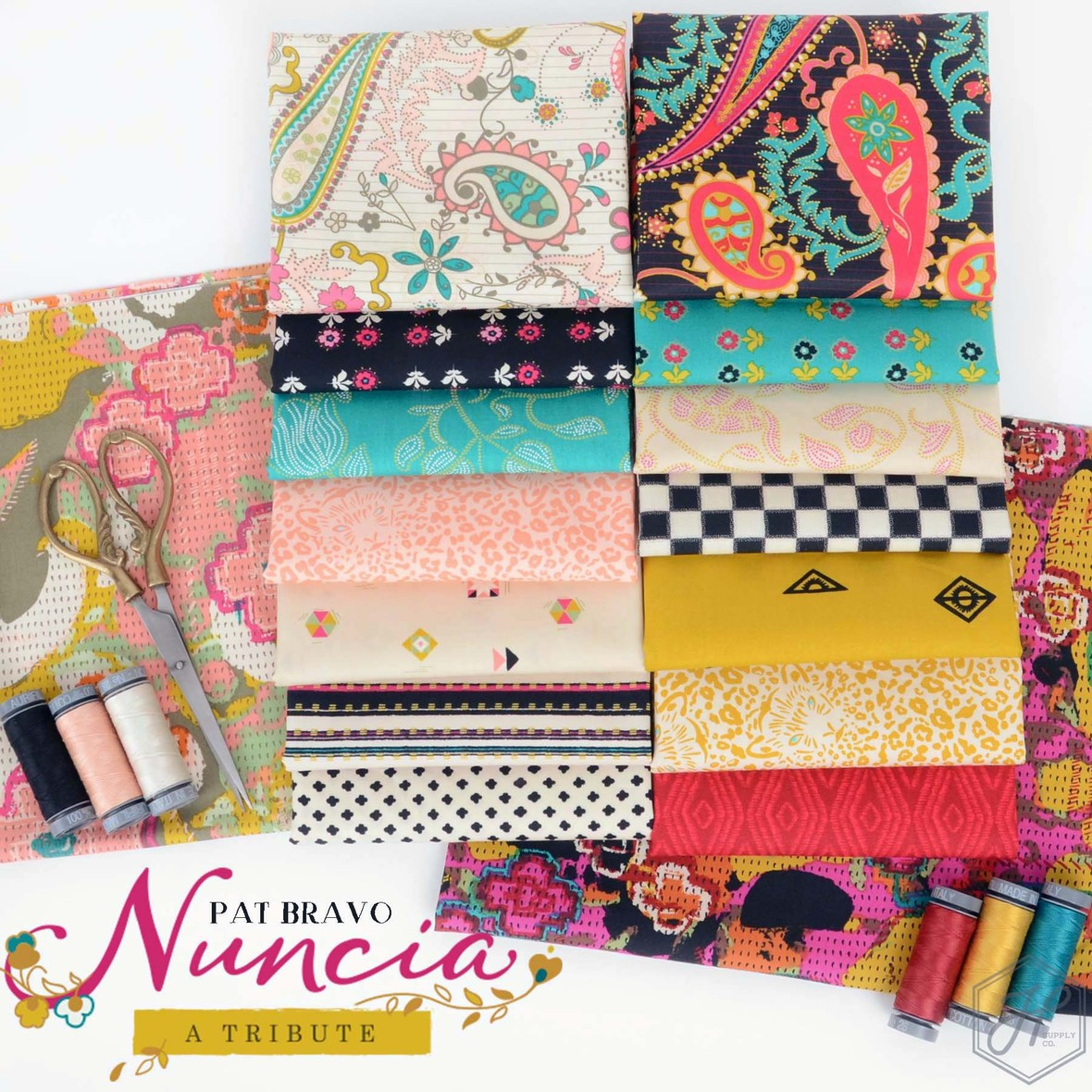Nuncia Fabric Poster Art Gallery at Hawthorne Supply Co