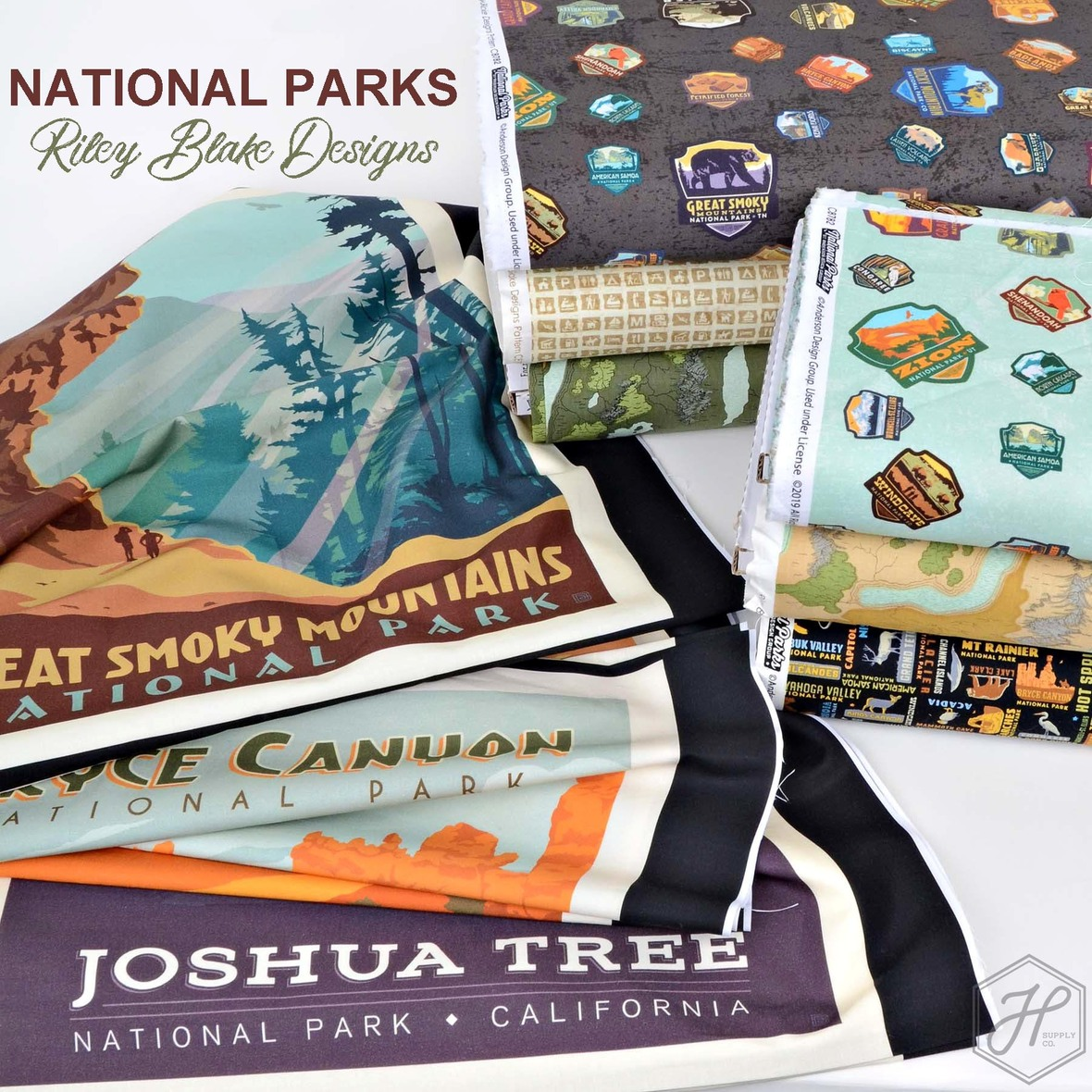 National Parks Fabric Riley Blake Designs at Hawthorne Supply Co