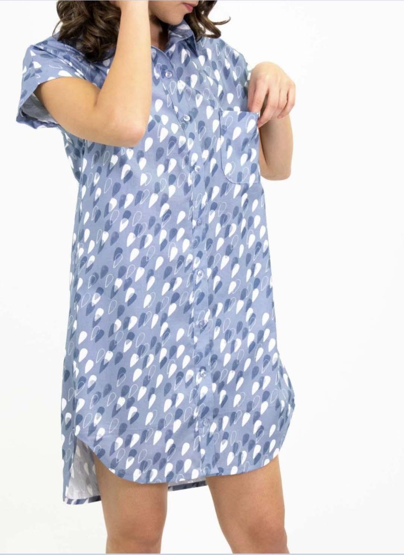 Moonlit Voyage Fabric Dress Shirt
