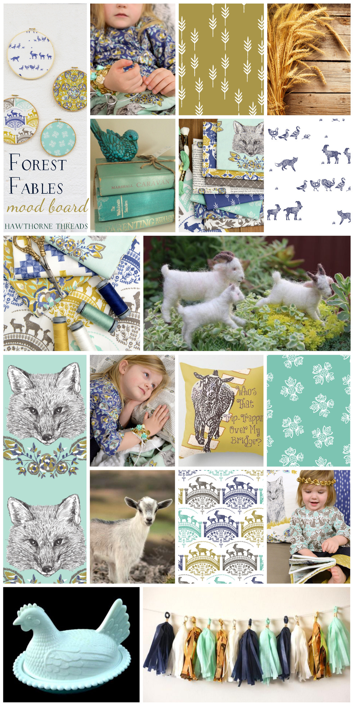 Forest Fables Fabric Mood Board in Glade.png