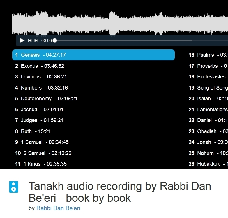 tanakh audio