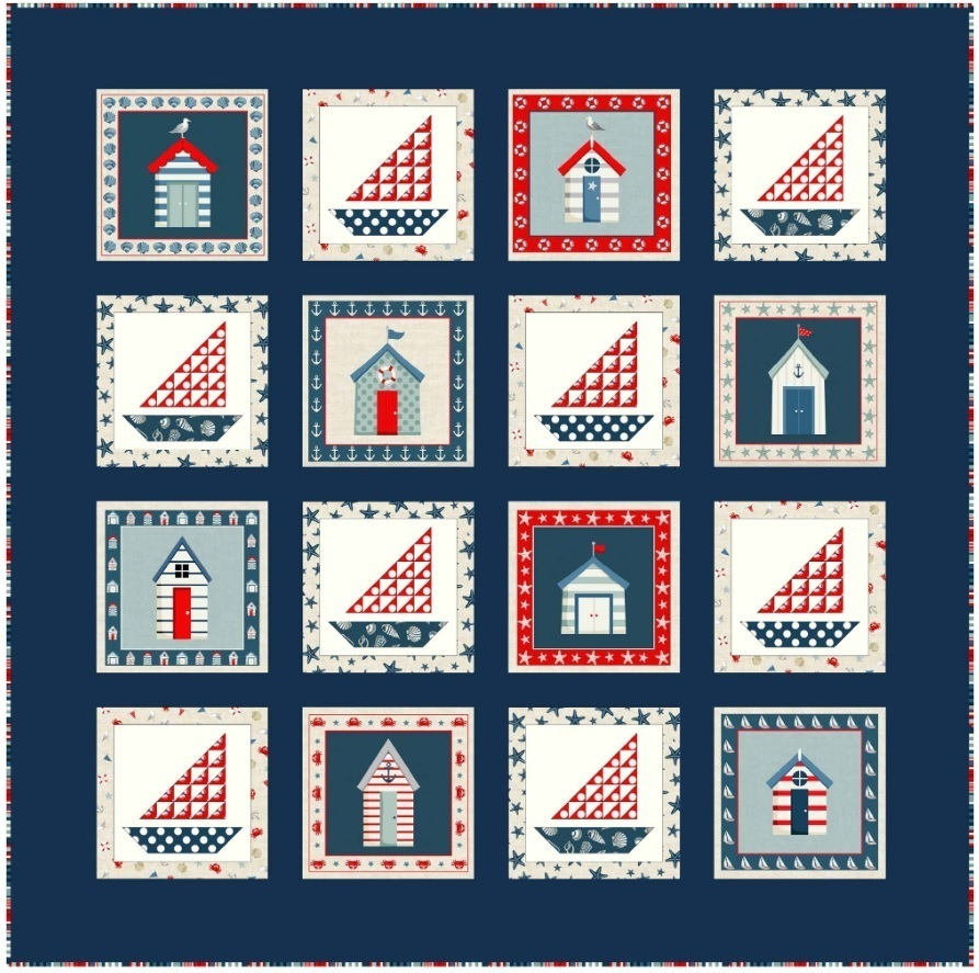 Sew View Fabric Quilt Pattern