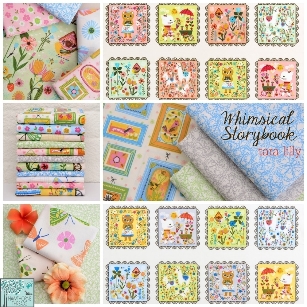 Whimsical Storybook Fabric Poster