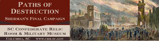 sc confederate museum paths of destruction