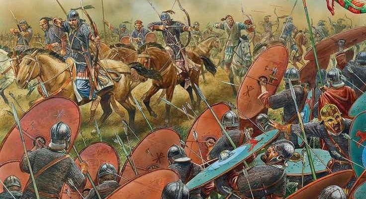 Atila y la batalla de los Campos Catalaunicos-736x400