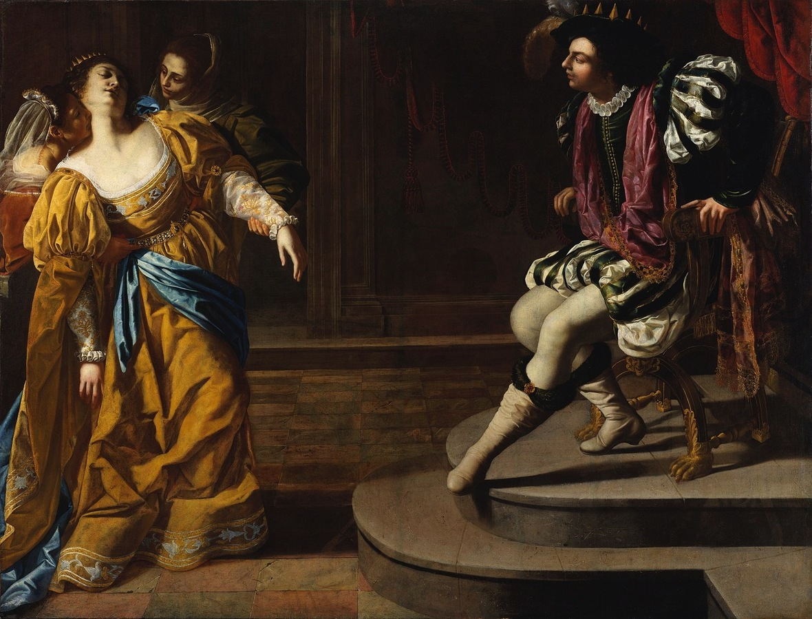 Gentileschi Artemisia - Esther before Ahasuerus - c. 16281635