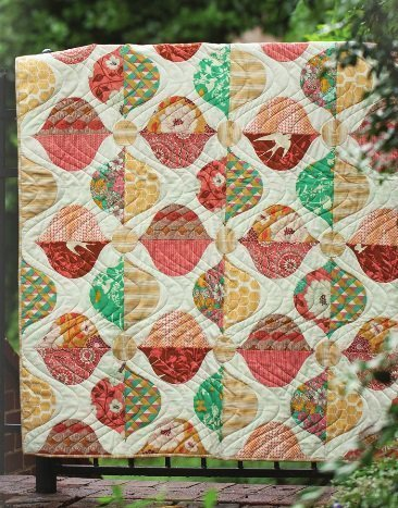 joel dewberry bungalow quilt kit sewing pattern