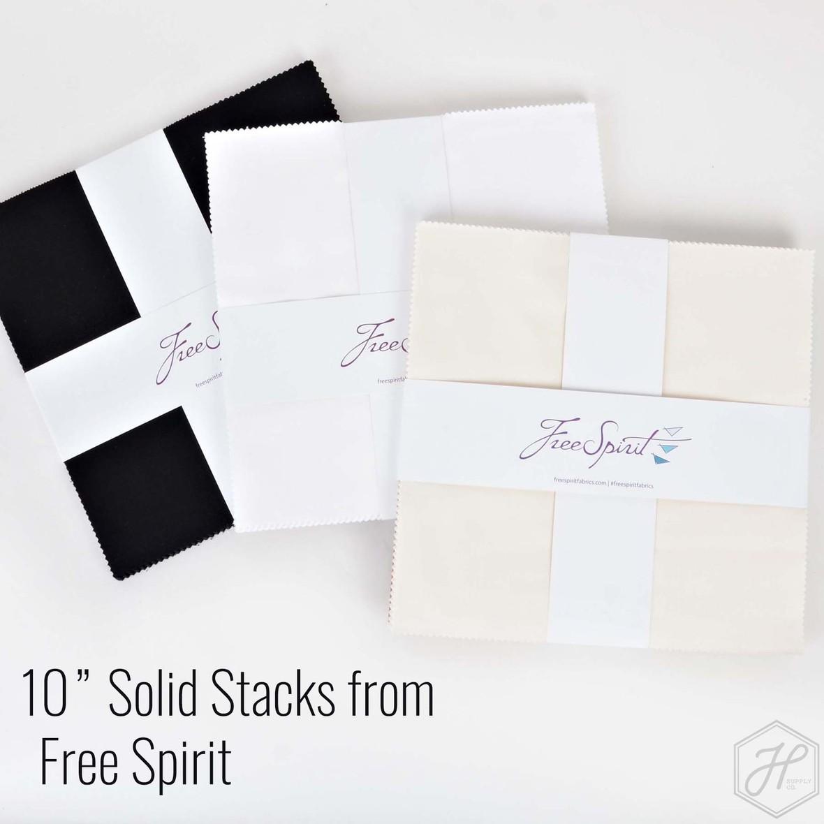 Free Spirit 10 inch squares