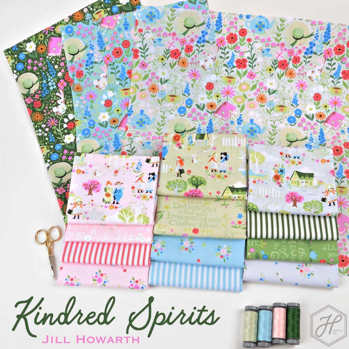 Kindred Spirits Fabric Jill Howarth at Hawthorne Supply Co