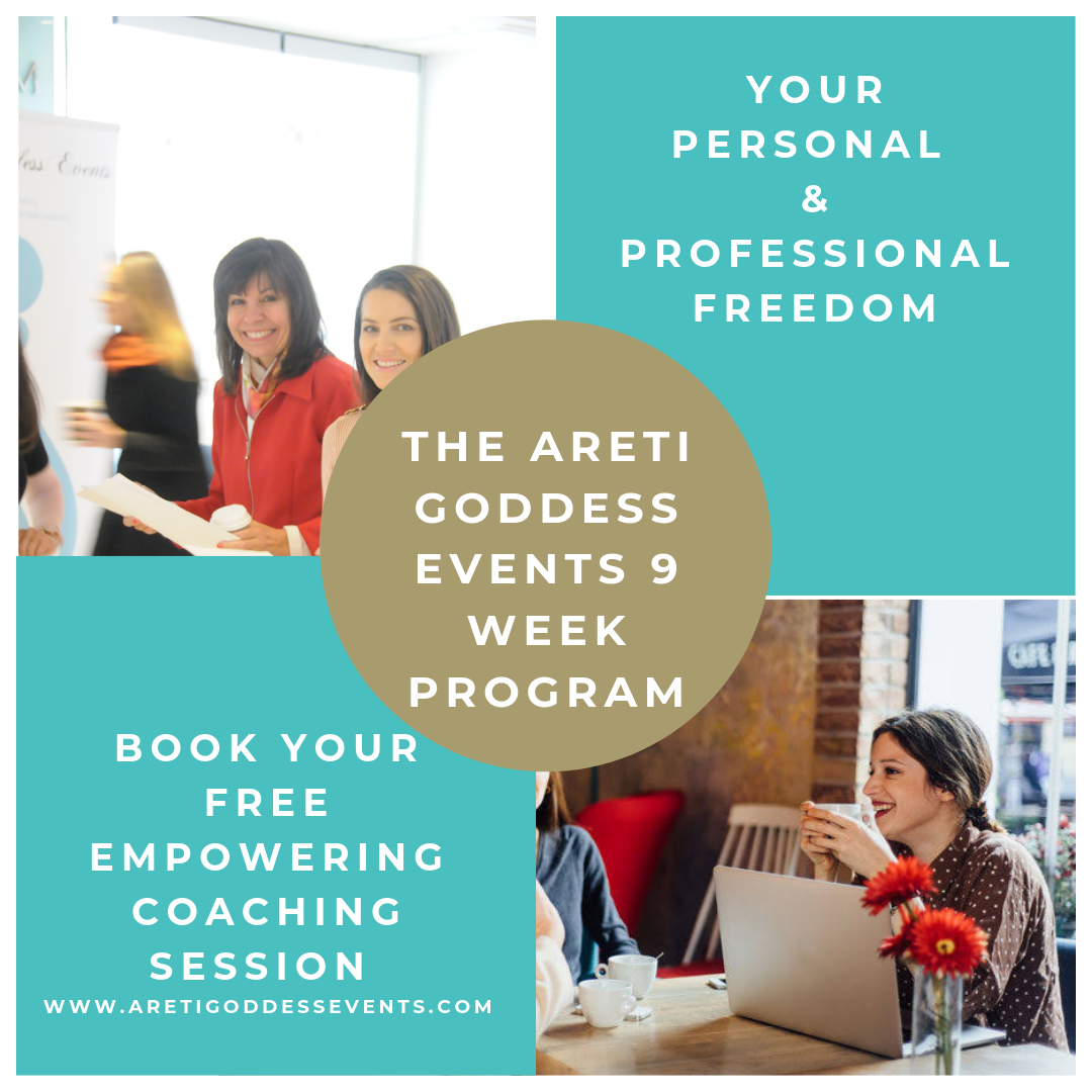 the areti goddess events 9 week program