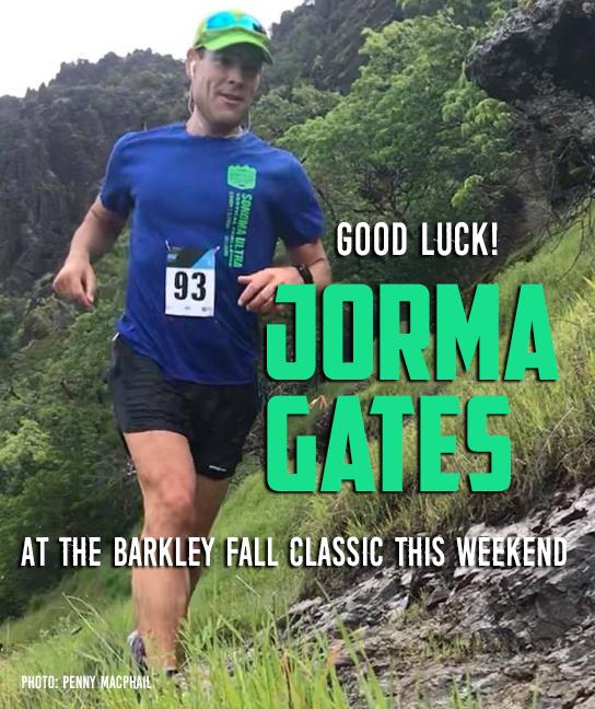 Jorma Gates good luck