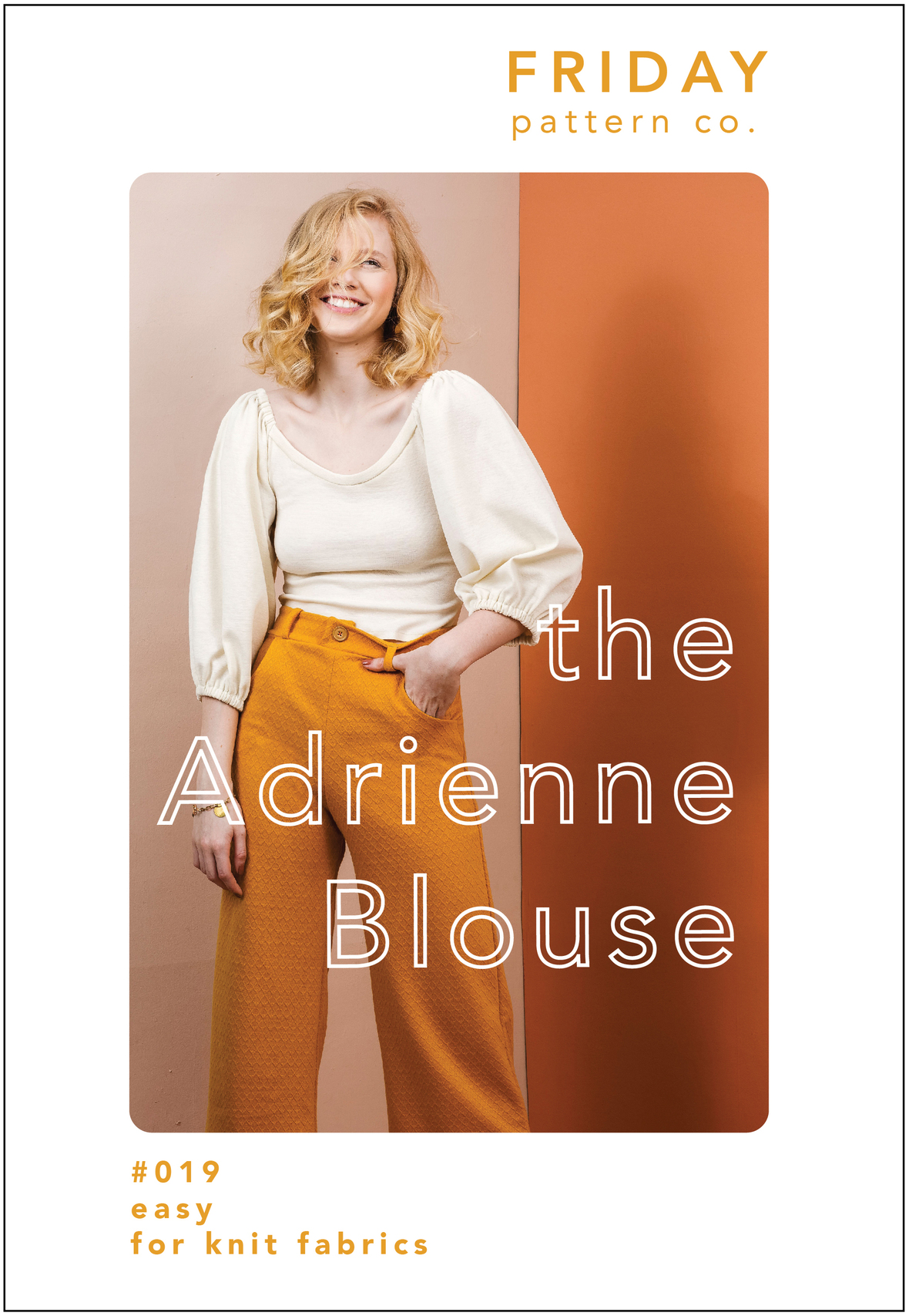 Adrienne Blouse Front