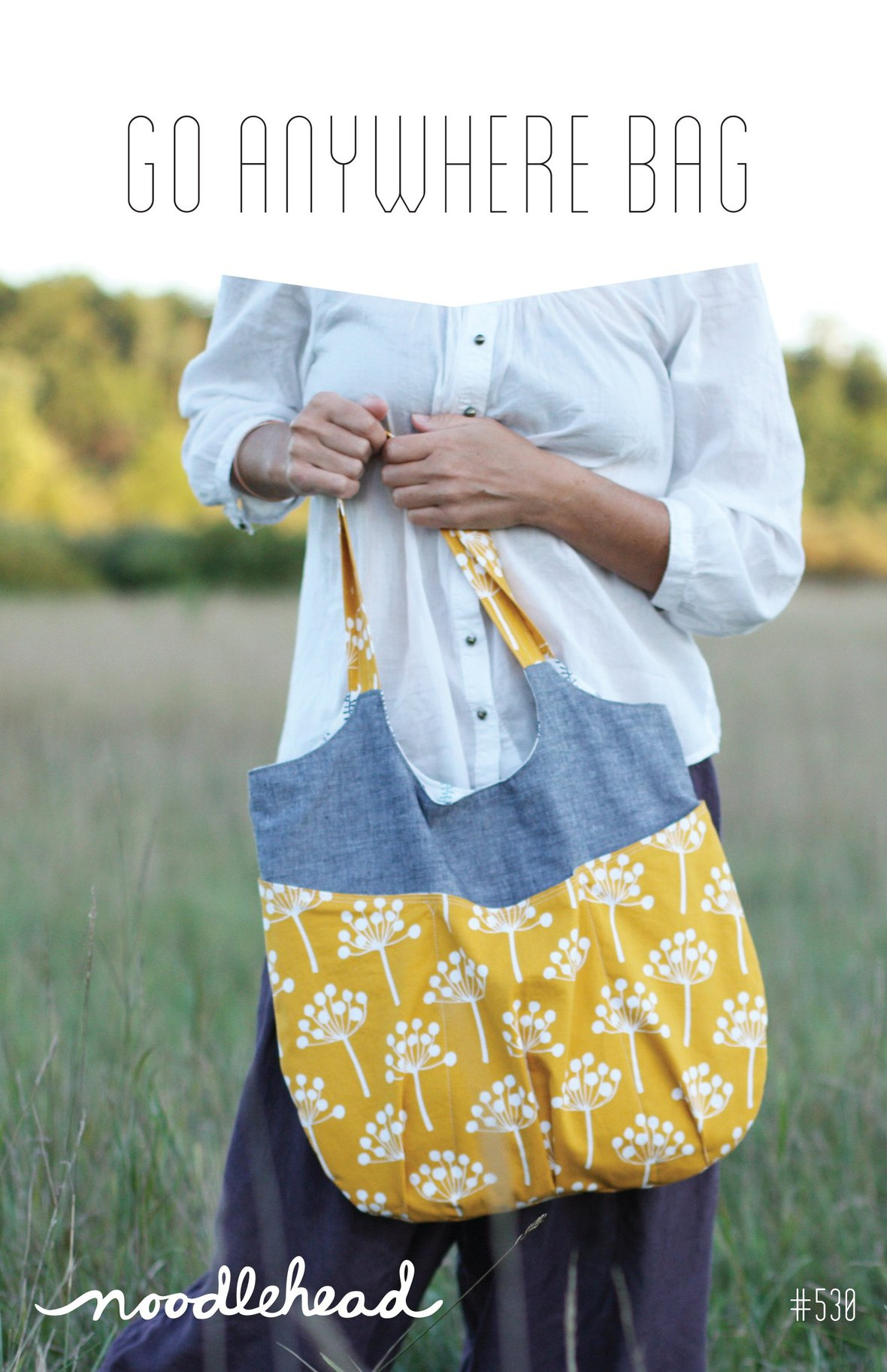 noodlehead go anywhere bag sewing pattern