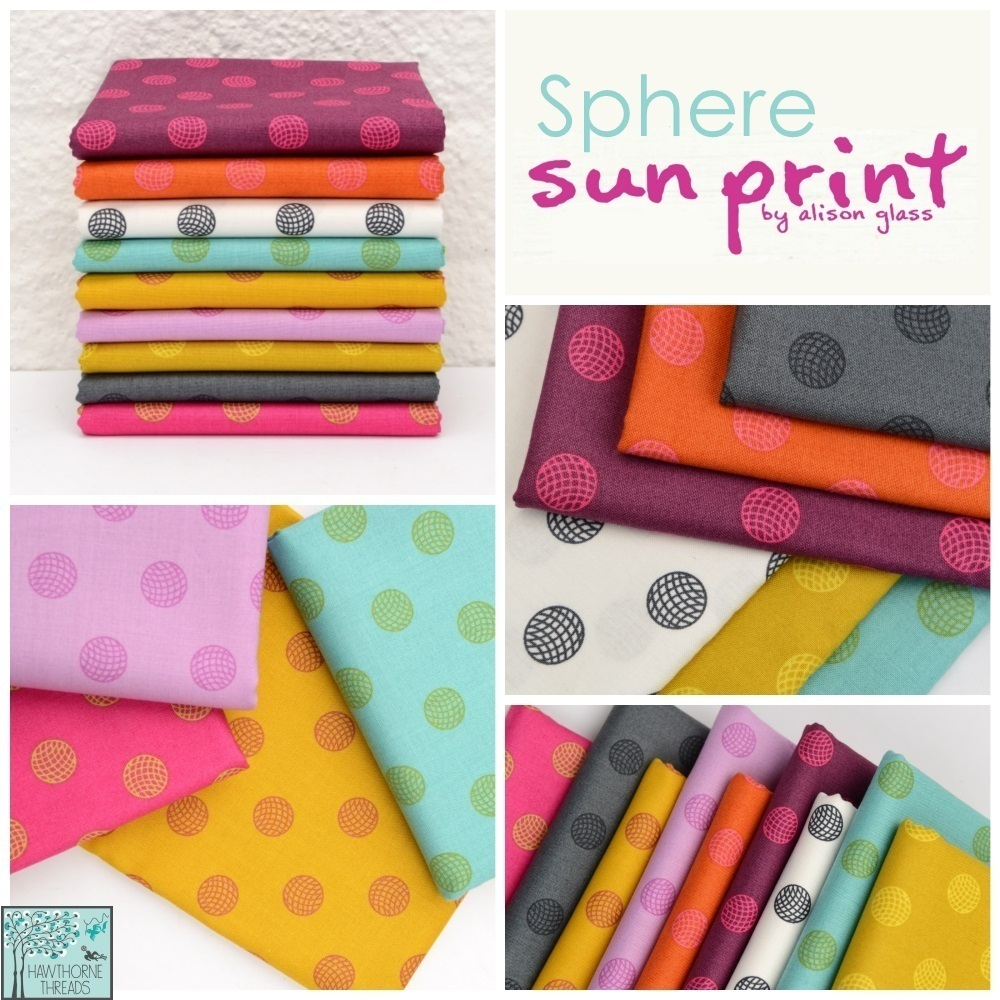 Sphere Sunprint Alison Glass Fabric