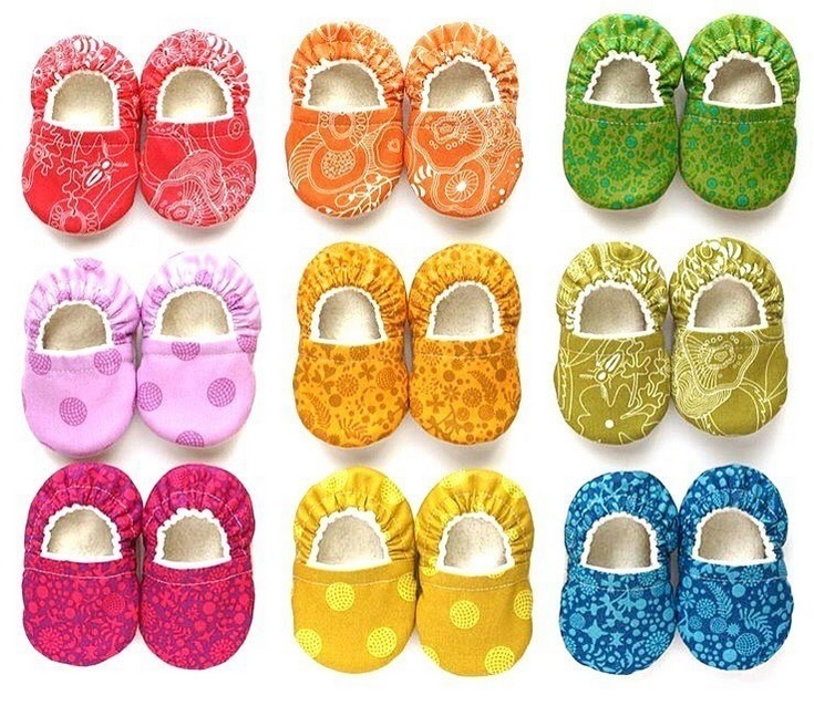 Sunprint Baby Shoes