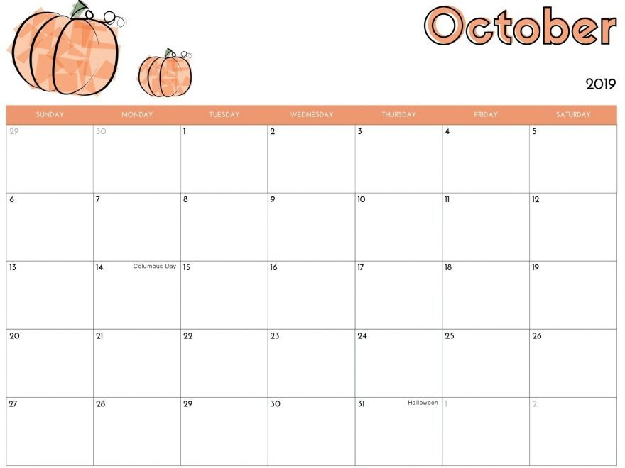 Cute-Calendar-for-October-2019-880x660