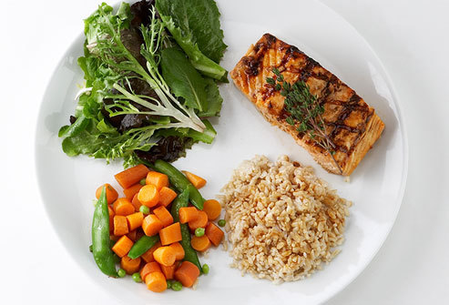 webmd photo of healthy portions on plate