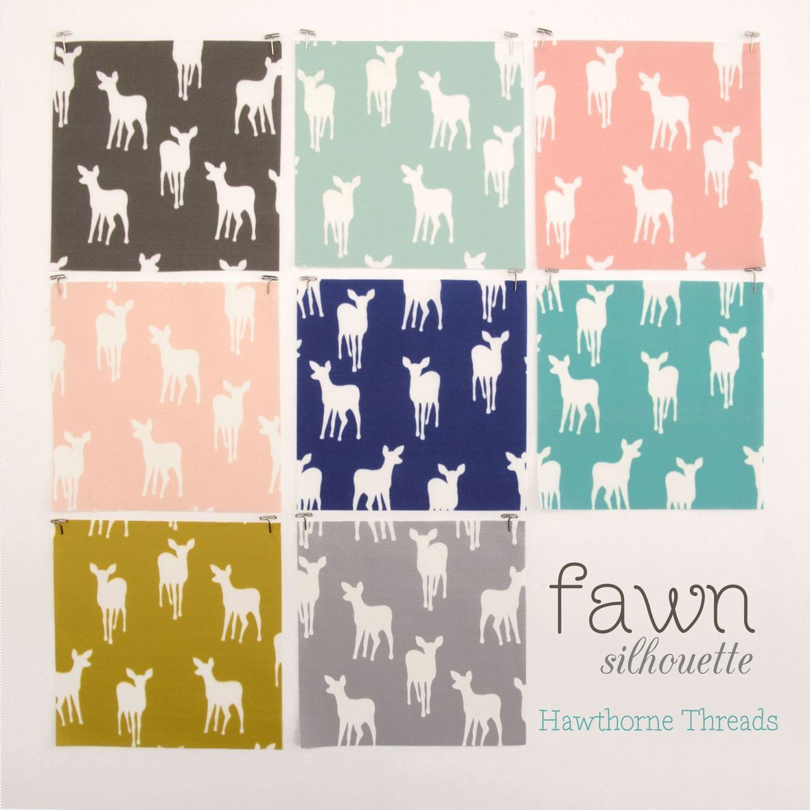 Fawn Silhouette Fabric - Copy