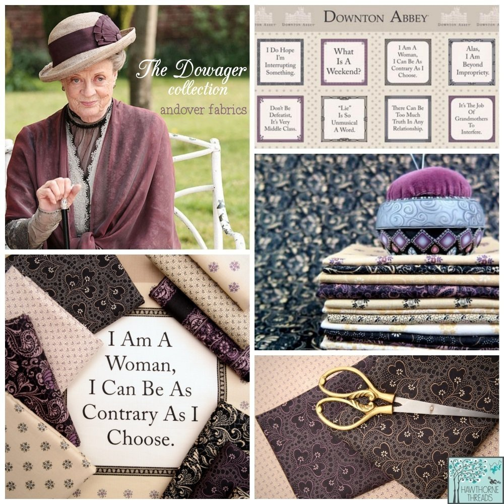 The Dowager Downton Abbey Fabric
