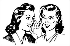 ladies telling secret