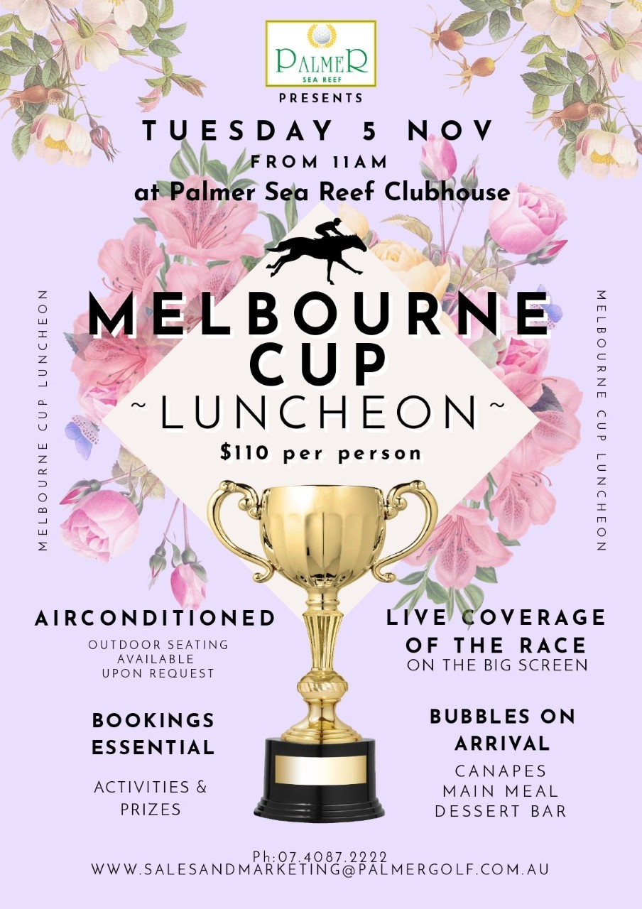 Melbourne Cup After Party with Cup Floral Features custom