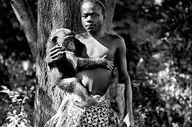 ota with chimp