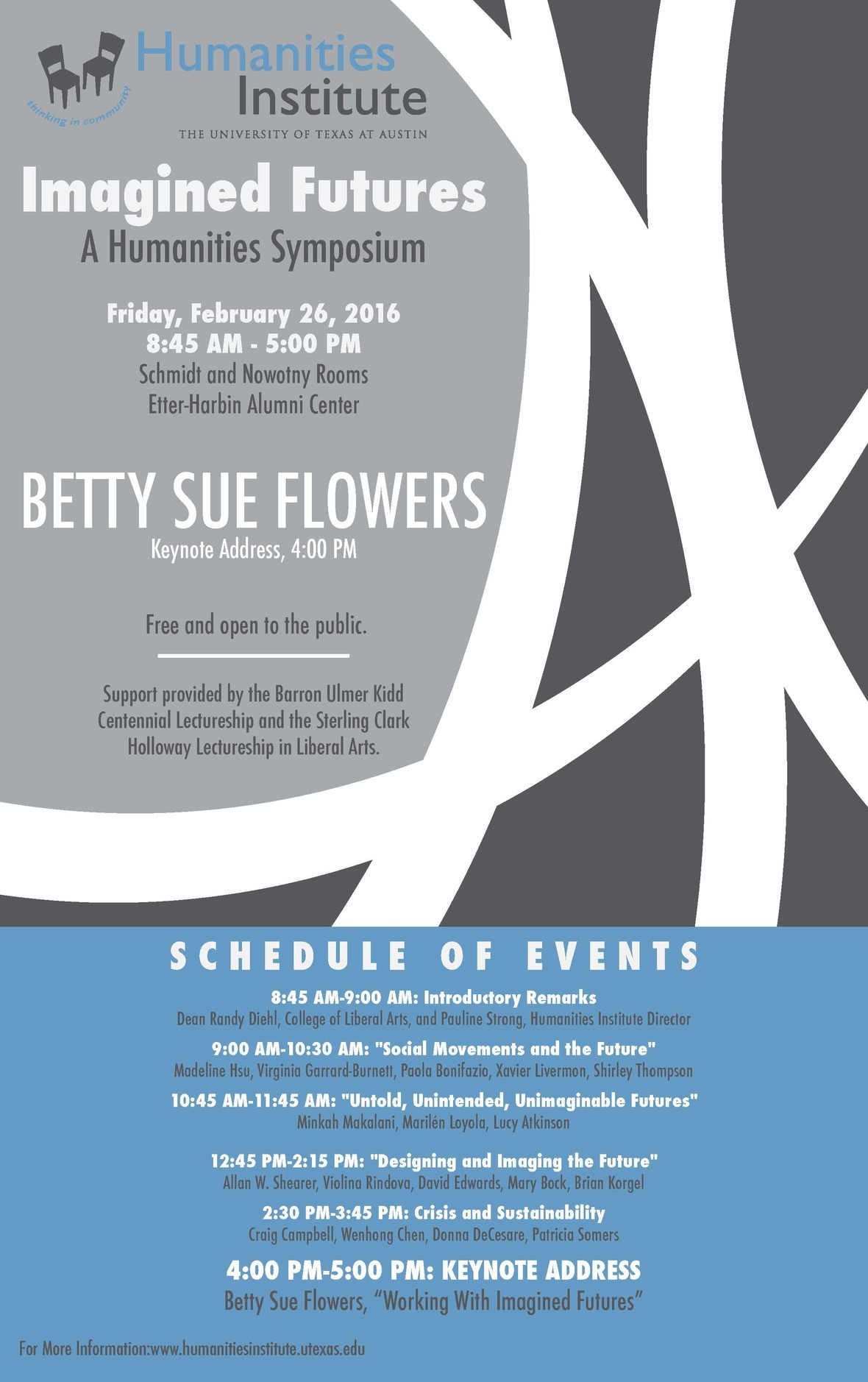 Betty Sue Flowers Poster 1