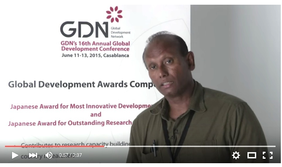GDN Award Video-Ravi