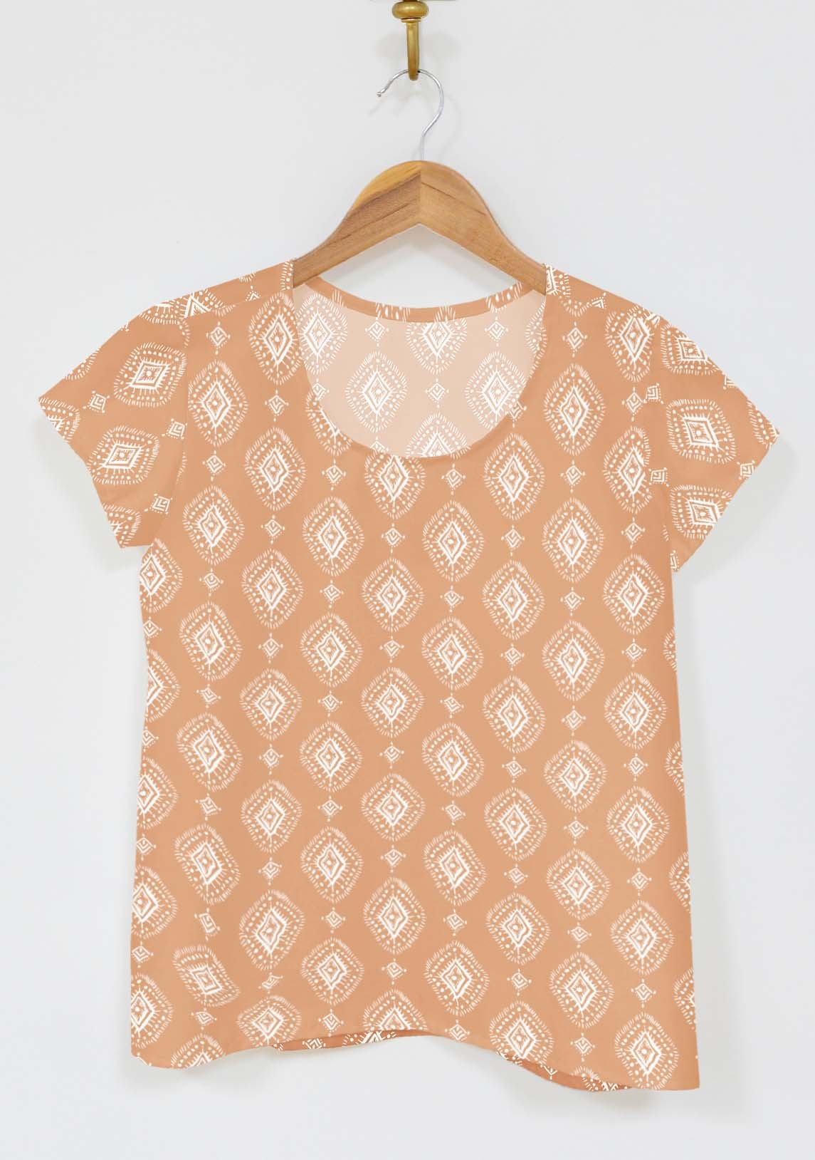 Scout Tee Geometric Clay